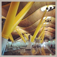 Photo taken at Adolfo Suárez Madrid-Barajas Airport (MAD) by MAR on 7/12/2013