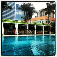 Photo taken at Conrad Miami by MAR on 4/7/2013