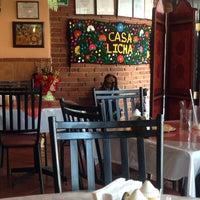 Photo taken at Pozole Casa Licha by Paola V. on 11/2/2014