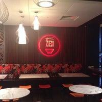 Photo taken at Zen Nodle Bar by Luke B. on 2/2/2014