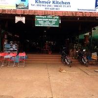 Photo taken at Khmer Kitchen by Jordan G. on 12/24/2013