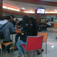 Photo taken at Food Court STIE Nobel 1st floor by Abrian A. on 9/25/2012