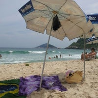 Photo taken at Prainha by Aline G. on 2/16/2013