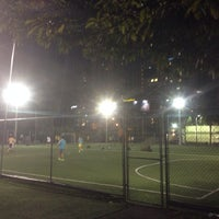 Photo taken at Downtown Soccer by Maxi H. on 3/20/2014