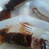Photo taken at Poppas BBQ by Larry J. on 3/28/2013