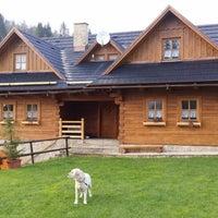 Photo taken at Chata Uhorcik by David S. on 4/15/2014