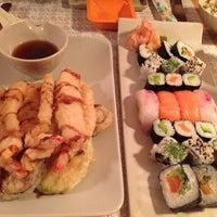 Photo taken at Origami Sushi Bar by Amal K. on 9/20/2013