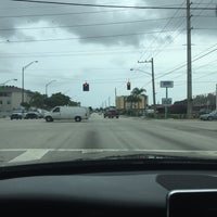 Photo taken at Intersection W Oakland Park Blvd & N Powerline Rd by Heatherjoy K. on 6/5/2017