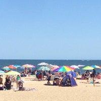 Photo taken at Belmar Beach 6th Avenue by Jason on 9/6/2015