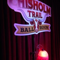 Photo taken at Chisholm Trail Ballroom by Kyle E. on 12/15/2013