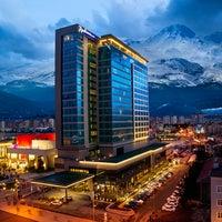 Photo taken at Radisson Blu Hotel, Kayseri by Radisson Blu Hotel, Kayseri on 4/10/2015