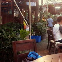 Photo taken at Kebon Kota Tropical Restaurant & Cafe by faye a. on 2/8/2014