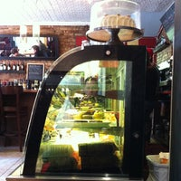 Photo taken at Tazza Bakery Enoteca by Matthew A. on 1/18/2013