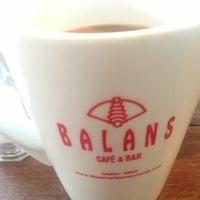 Photo taken at Balans Restaurant & Bar, Biscayne by Joseph E. on 5/10/2013