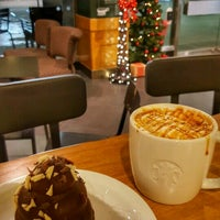 Photo taken at Starbucks by Monica P. on 11/18/2016