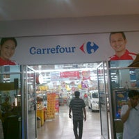 Photo taken at Carrefour by reza a. on 1/27/2014