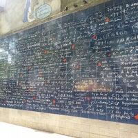 """Photo prise au Le Mur des """"Je t'aime"""" par Nicoletta C. le5/4/2014"""