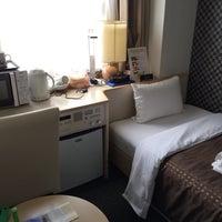 Photo taken at Hotel Livemax Kyoto-Gojo by Irina S. on 1/1/2016