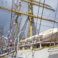 Photo taken at Black Sea Tall Ships 2014 by Ac A. on 5/26/2014