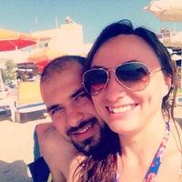 Photo taken at The Quick Corner Beach Restaurant by Özlem T. on 8/16/2015
