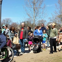 Photo taken at May Day Parade by Emily S. on 5/4/2014