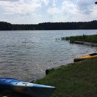 Photo taken at Jezioro Mikaszewo by Anastasia Y. on 7/11/2016