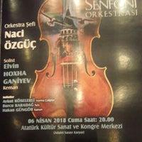 4/6/2018 tarihinde Elif B.ziyaretçi tarafından Eskişehir Atatürk Kültür Sanat ve Kongre Merkezi'de çekilen fotoğraf