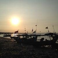 Photo taken at Wisata Pantai Boom Tuban by M.dwi F. on 6/10/2014