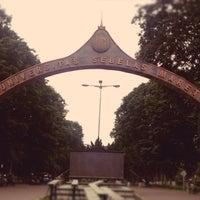 Photo taken at Universitas Sebelas Maret by Ega A. on 12/29/2012