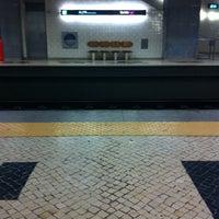 Photo taken at Metro Carnide [AZ] by Mafalda Andrade N. on 1/23/2014