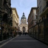 Photo taken at Zrínyi utca by Orsi H. on 2/27/2016