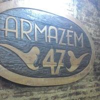 Photo taken at Armazém 47 by Rodrigo W. on 12/26/2013