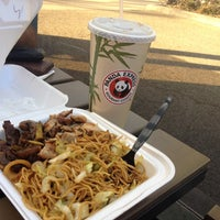 Photo taken at Panda Express - South Pasadena by Anar D. on 12/30/2013