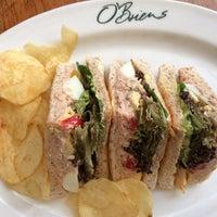 Photo taken at O'Briens Irish Sandwich Cafe by sarawahi on 7/31/2017