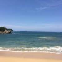 Photo taken at Santa Cruz Huatulco by Karly C. on 7/28/2017