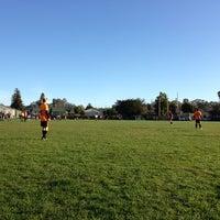 Photo taken at Good Shepherd Soccer Field by Avery L. on 3/10/2013