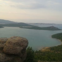 Photo taken at Cunda Sahil Çarşısı by Ali G. on 7/19/2014