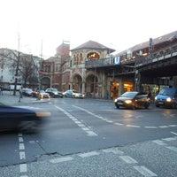 Photo taken at U Schlesisches Tor by Taku I. on 12/27/2013