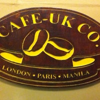 Photo taken at Cafe-UK Co. by Joni C. on 1/4/2014