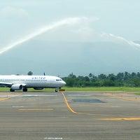 Photo taken at Cibao International Airport (STI) by Aeropuerto Internacional del Cibao on 6/11/2014