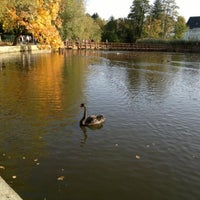 Photo taken at Steinmeisterpark by Michael D. on 10/21/2012
