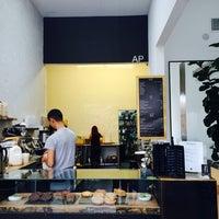 Photo taken at AP Café by Yuri B. on 10/7/2014