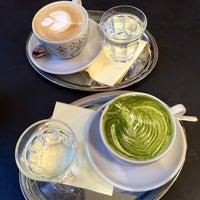 Photo taken at La Bohème Café by Sabina on 3/23/2015