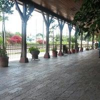 Photo taken at Estacion de Trenes, Queretaro by Bren 1. on 8/24/2014