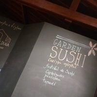 Photo taken at Garden Sushi by Rafael S. on 1/13/2014