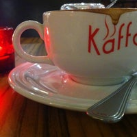 Photo taken at Kaffa Kafe by Yong Yao on 10/6/2012