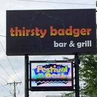Photo taken at Thirsty Badger by Tony H. on 8/8/2013