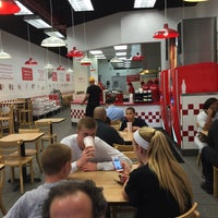 Photo taken at Five Guys by June E. on 5/8/2015