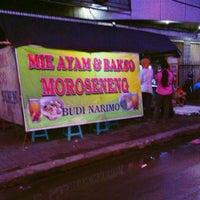 Photo taken at Mie Ayam & Bakso Moro Seneng by Heru K. on 11/19/2013