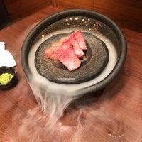 Photo taken at 和牛炭火焼肉 味道苑 池袋店 by yusuke y. on 4/2/2018